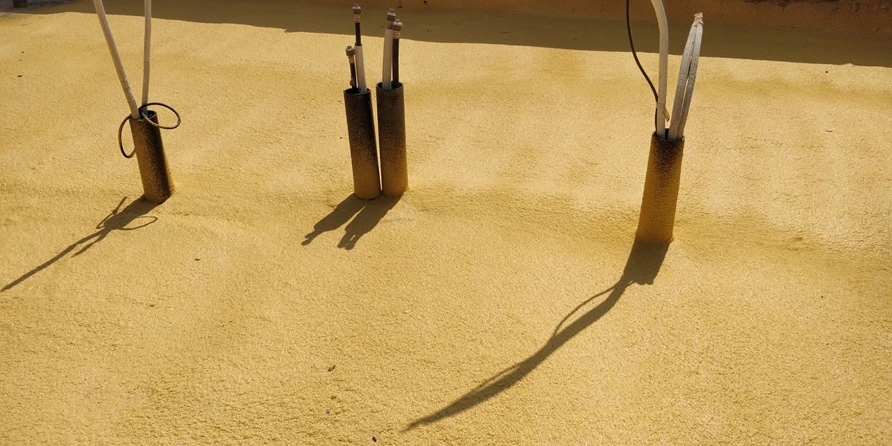 איטום גגות בפוליאוריטן