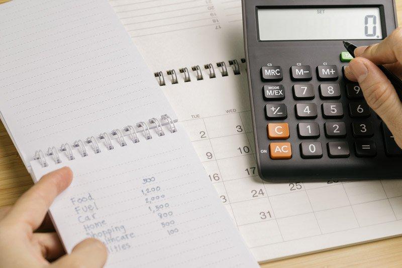 אומדן בניה - רשימת הוצאות בבניה